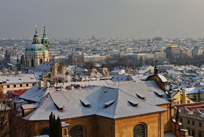Winter photos from Prague