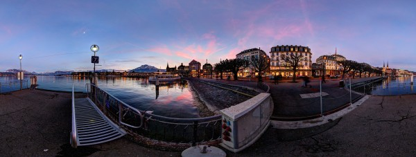 Sunset over Luzern